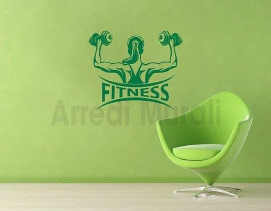 Adesivi da parete fitness palestra