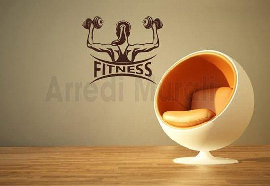 decorazioni da parete fitness palestra