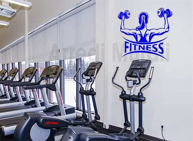 wall stickers fitness palestra