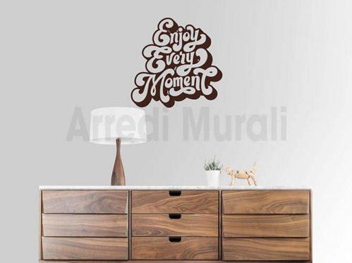 adesivi murali enjoy decorazioni da parete