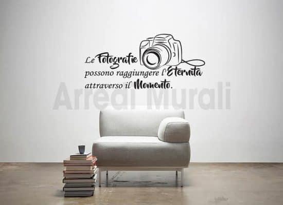 adesivi murali frase fotografia decorazioni da parete