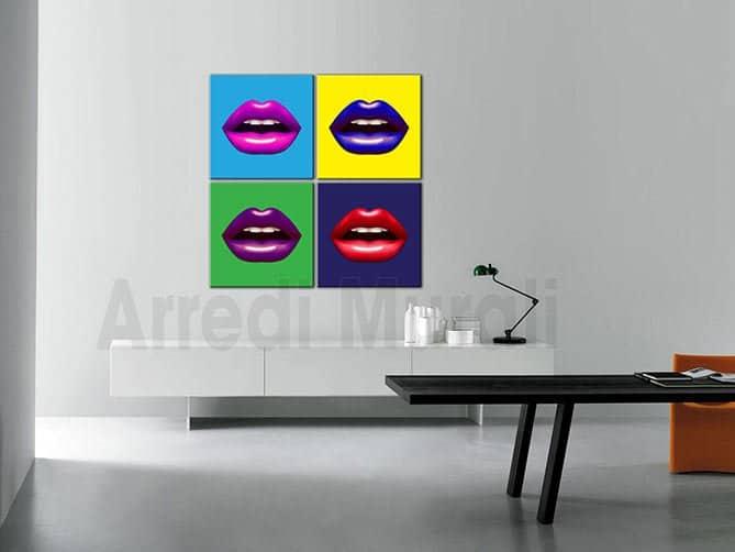 quadri moderni stampe pop art arredo