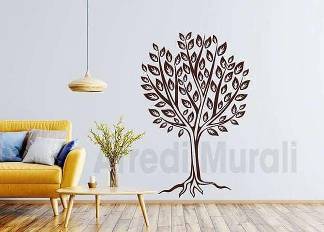 stickers murali albero stilizzato
