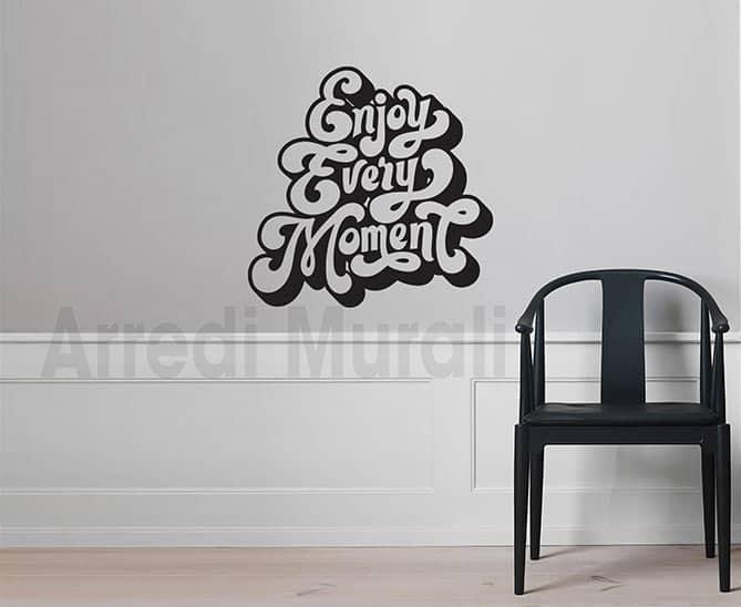 stickers murali enjoy decorazioni da parete