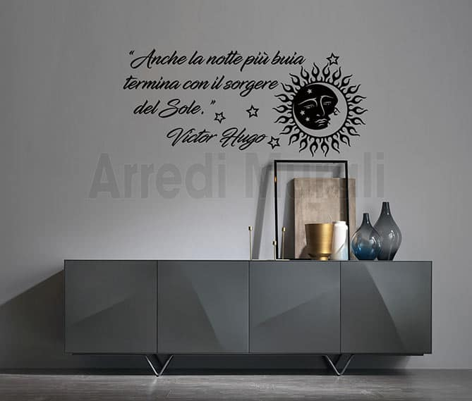 wall stickers frase Victor Hugo