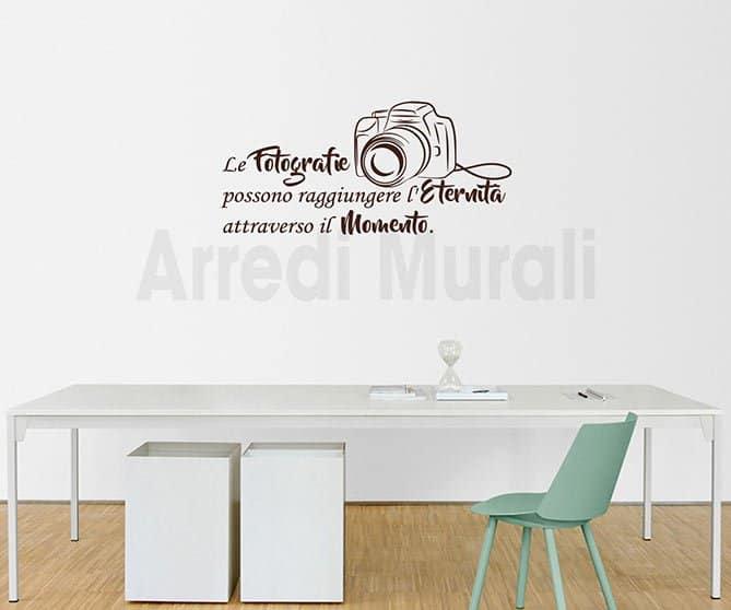 wall stickers frase fotografia decorazioni da parete