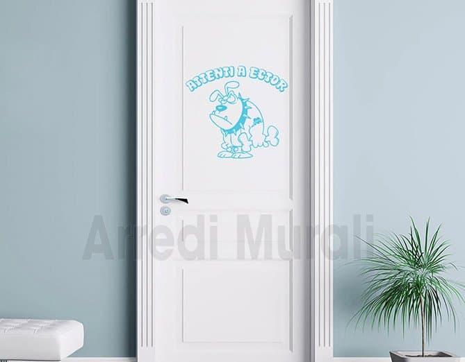 stickers decorativi nome cane personalizzato decori muro