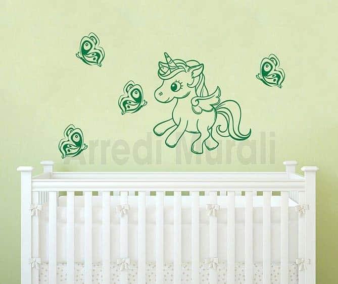 adesivi murali camerette bambine decori adesivi