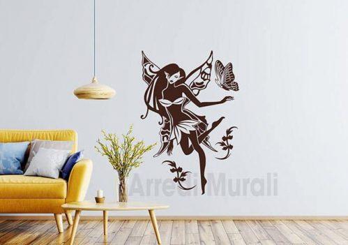 adesivi murali fatina stickers da parete