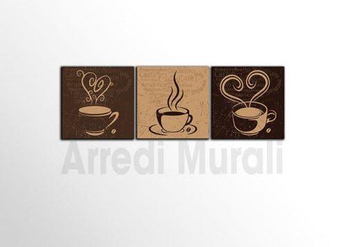 quadri per bar tazzina di caffè