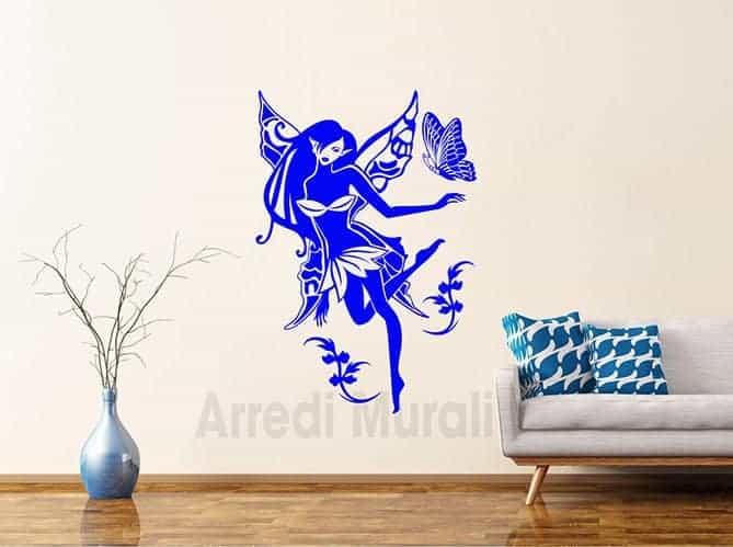 stickers fata decorativa parete