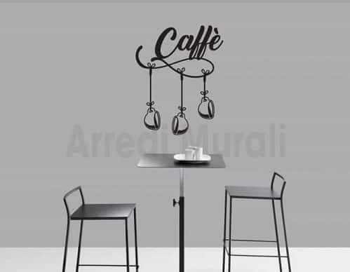 wall stickers arredo bar caffè