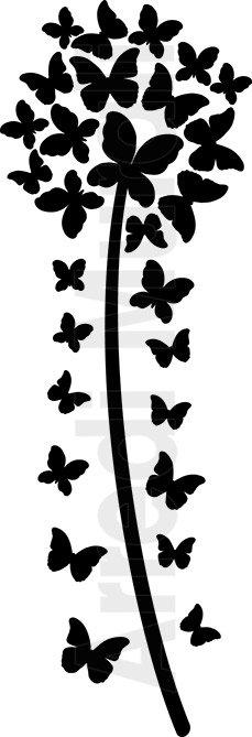 adesivi per pareti soffione e farfalle come arriverà a casa tua