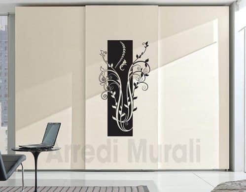 decorazioni per pareti floreali in adesivi murali