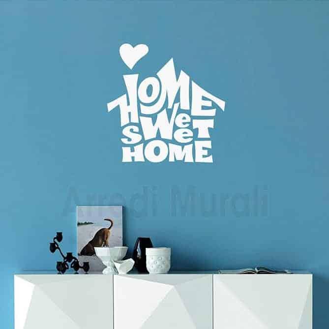 wall stickers home sweet home decorazioni casa