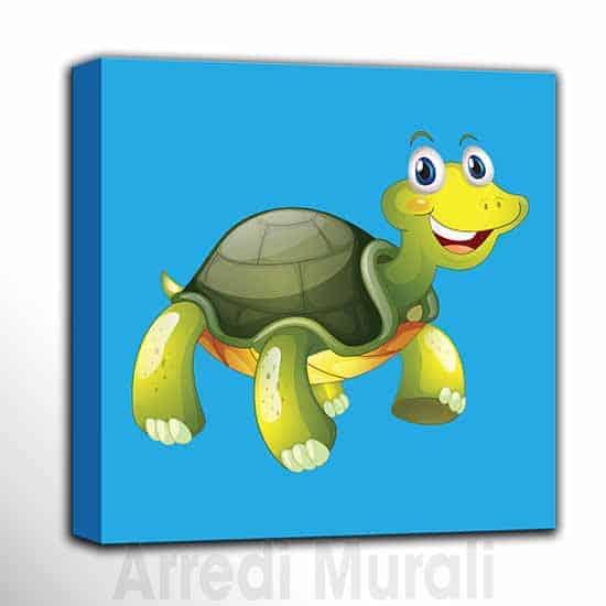 quadri per bambini animaletti tartaruga per camerette