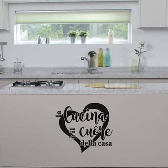 Scritte adesive per le pareti della cucina. Realizzati in adesivi murali sono perfetti per rendere più accogliente la tua cucina nero
