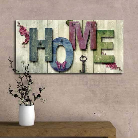 Quadro moderno home perfetto anche in stile shabby o country
