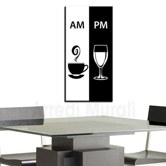 Quadro su tela per bar moderno