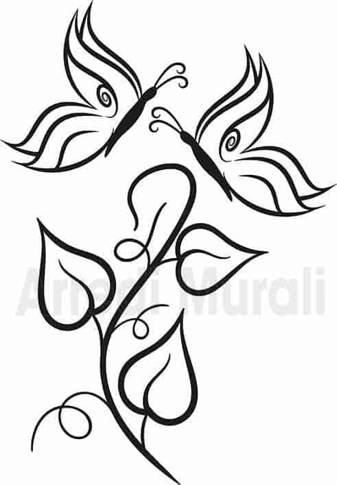 adesivi murali farfalle decorative come li riceverai