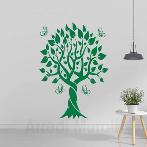 adesivi-murali-albero-farfalle-decorazioni-da-parete
