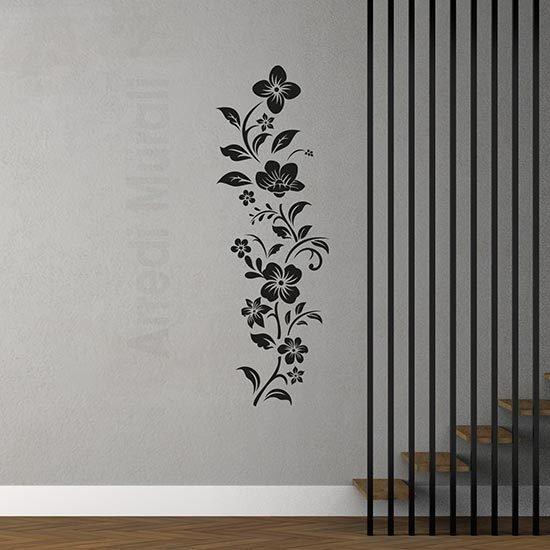 Adesivi murali decorazioni floreali per interni
