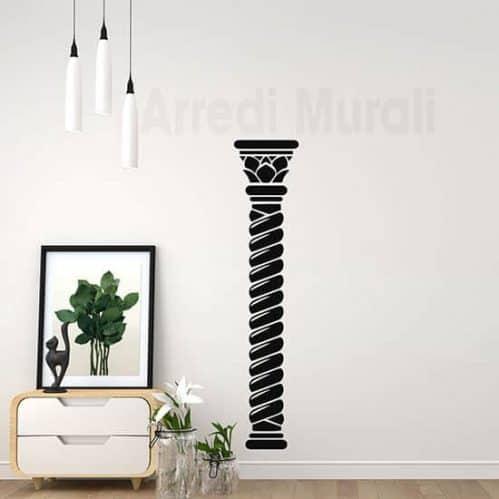 Adesivi murali colonna arredo decorazioni per pareti