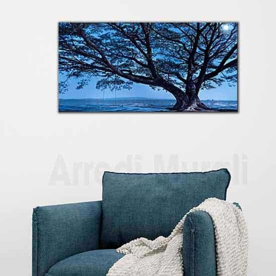 Quadri paesaggio naturale stampa su tela unica