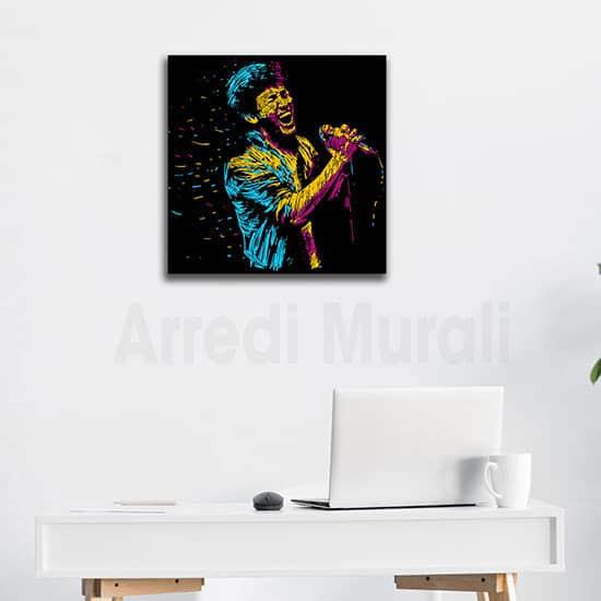 Quadro astratto musica arte per arredare le pareti