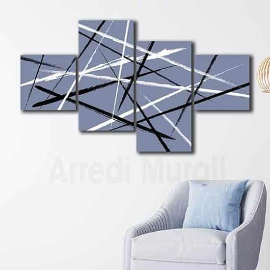 Quadri astratti stampe moderne su tela decorazioni murali