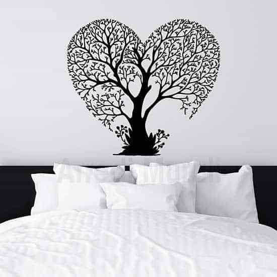 Adesivi da parete albero love