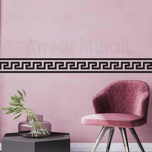 Greca adesiva da parete decorazioni murali per arredare