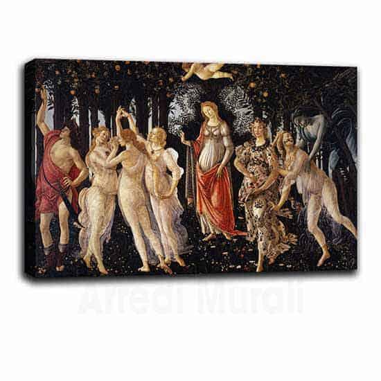 Quadri famosi la primavera di Botticelli