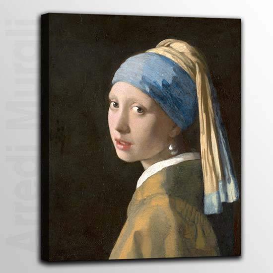 Quadri famosi ragazza col turbante di Vermeer