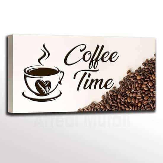 Quadro caffè per bar o per cucina