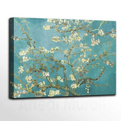 Quadri famosi di Van Gogh, stampa su tela