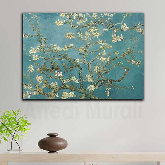 Quadri famosi di Van Gogh, Ramo di mandorlo fiorito