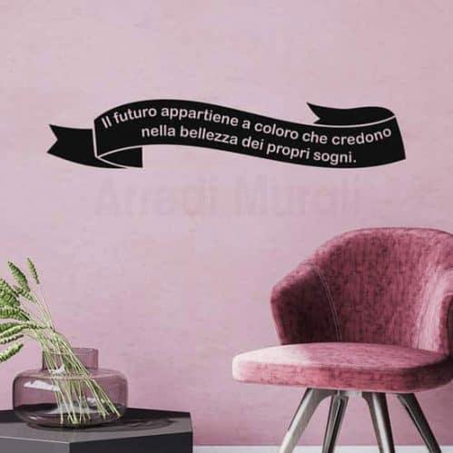 Frasi adesive personalizzate per pareti, la tua frase per arredare