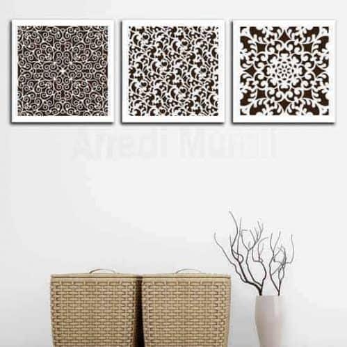 Quadri astratti geometrici moderni
