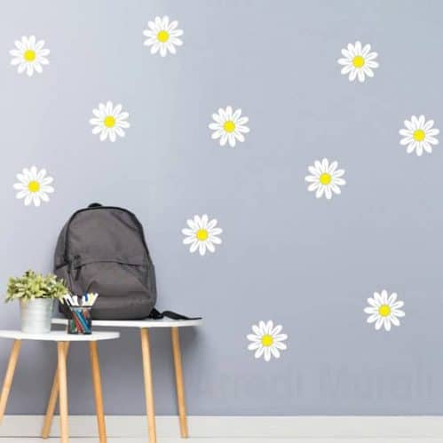 Adesivi murali fiori margherite