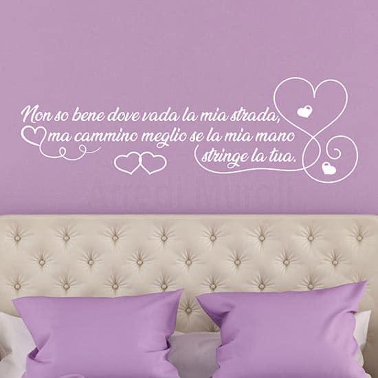 Adesivi da parete per la camera da letto, decorazioni murali