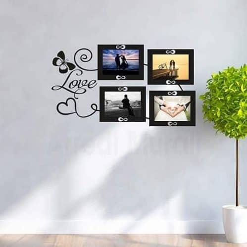 Adesivi cornici foto love