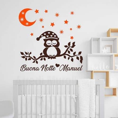 Adesivi personalizzati per la cameretta dei bambini