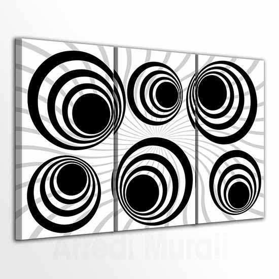 Quadri moderni con astrattismo geometrico