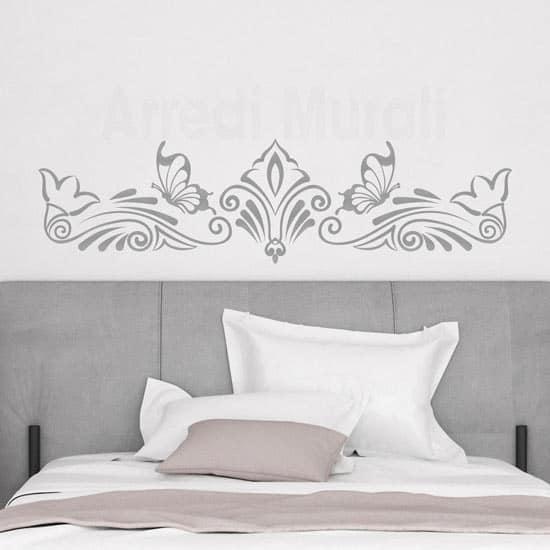 Wall stickers per testata letto