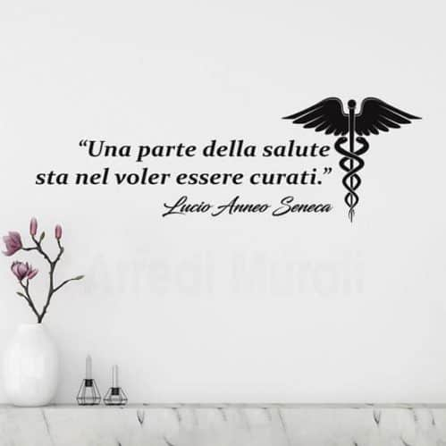 Frase adesiva di Seneca sulla salute