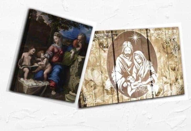 quadri Sacra Famiglia moderni per arredare
