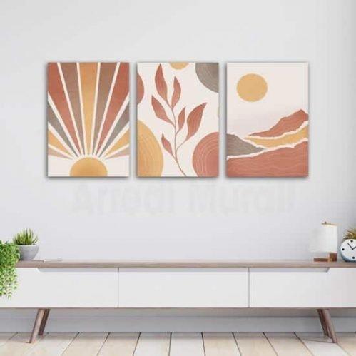 Quadri da parete astratti moderni con stampe su tela
