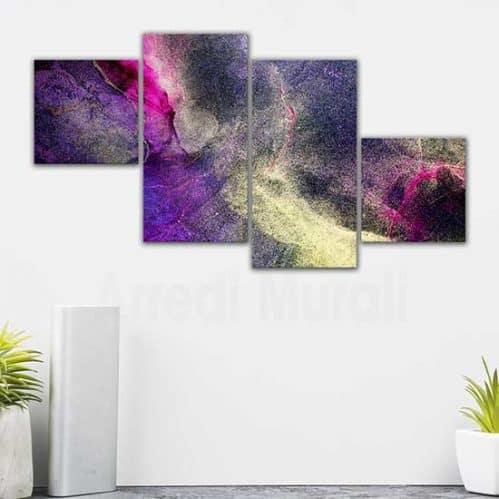 Quadri astratti su tela canvas per arredare le pareti