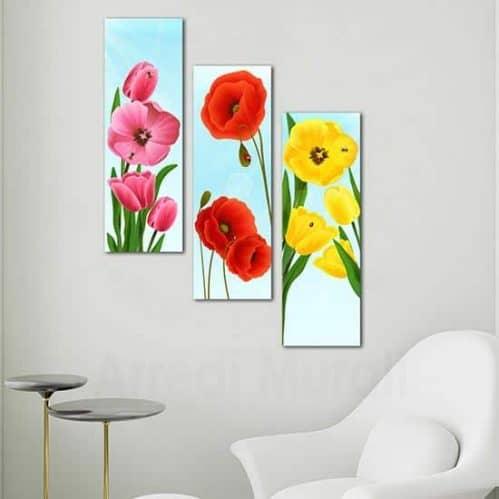 Quadri moderni da parete con fiori